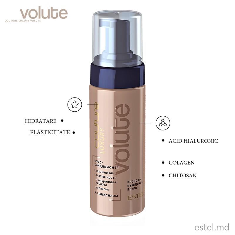 Spumă-condiționer pentru păr LUXURY VOLUTE ESTEL HAUTE COUTURE, 150 ml