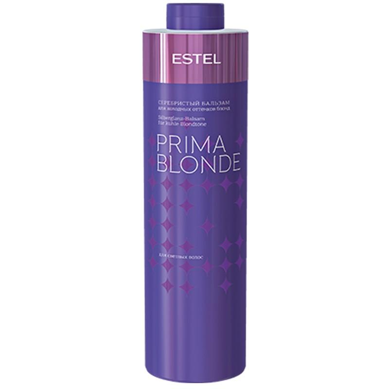 Balsam argintiu pentru nuanțele reci de blond ESTEL PRIMA BLONDE, 1000 ml