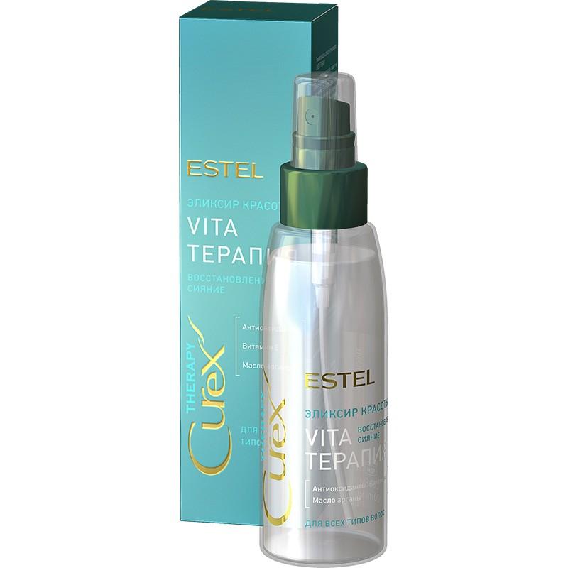Elexirul frumuseții pentru toate tipurile de păr ESTEL CUREX THERAPY, 100 ml - ESTEL Moldova