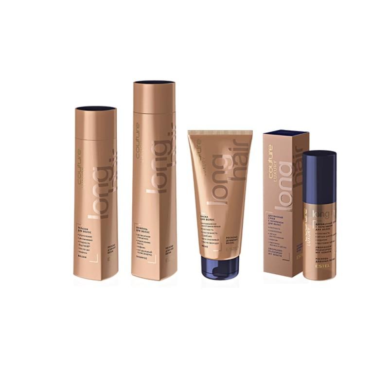 Șampon pentru păr LUXURY LONG HAIR ESTEL HAUTE COUTURE, 300 ml