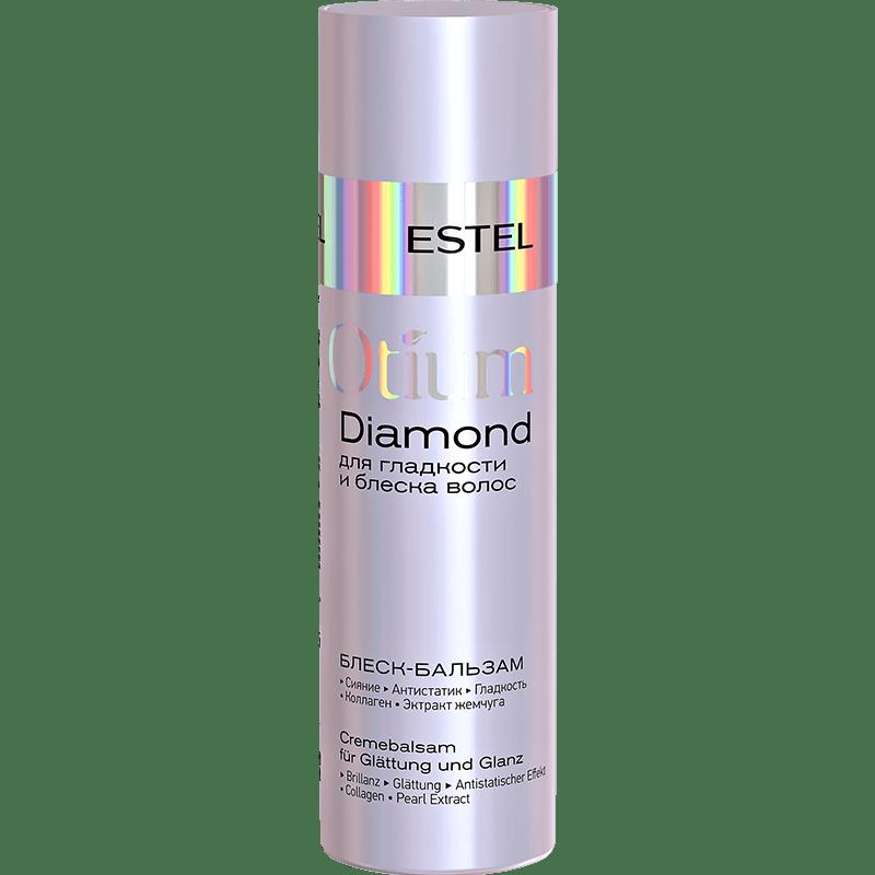 Balsam-luciu pentru netezimea și luciul Părui ESTEL OTIUM DIAMOND, 200 ml - ESTEL Moldova