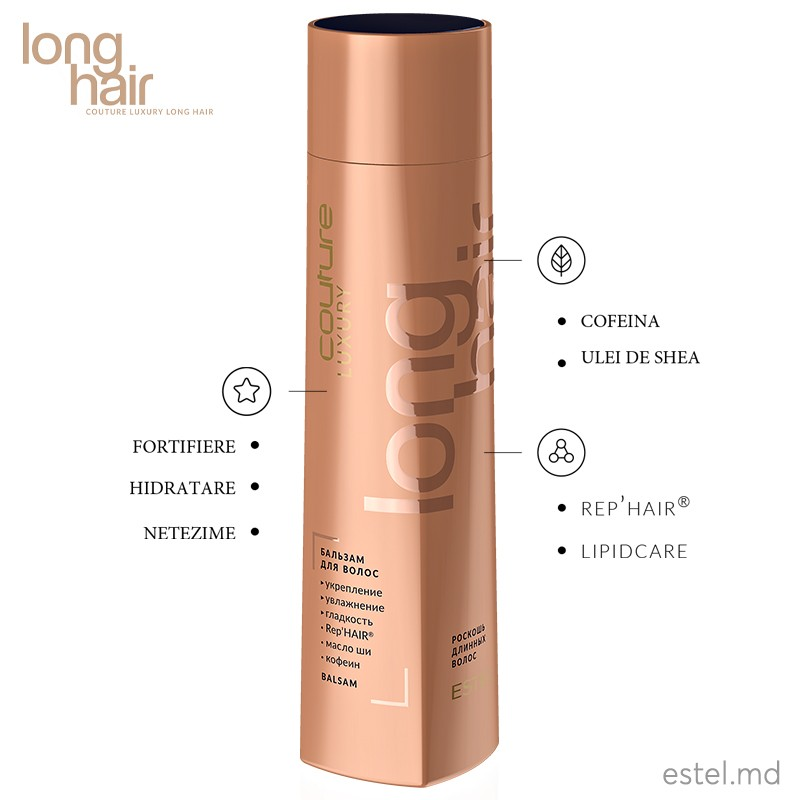 Balsam pentru par LUXURY LONG HAIR ESTEL HAUTE COUTURE, 1000 ml
