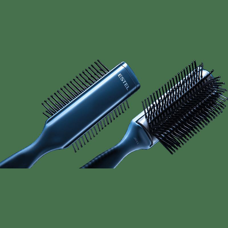Perie de ceramică profesională pentru aranjarea părului ESTEL Premier, 9 rânduri