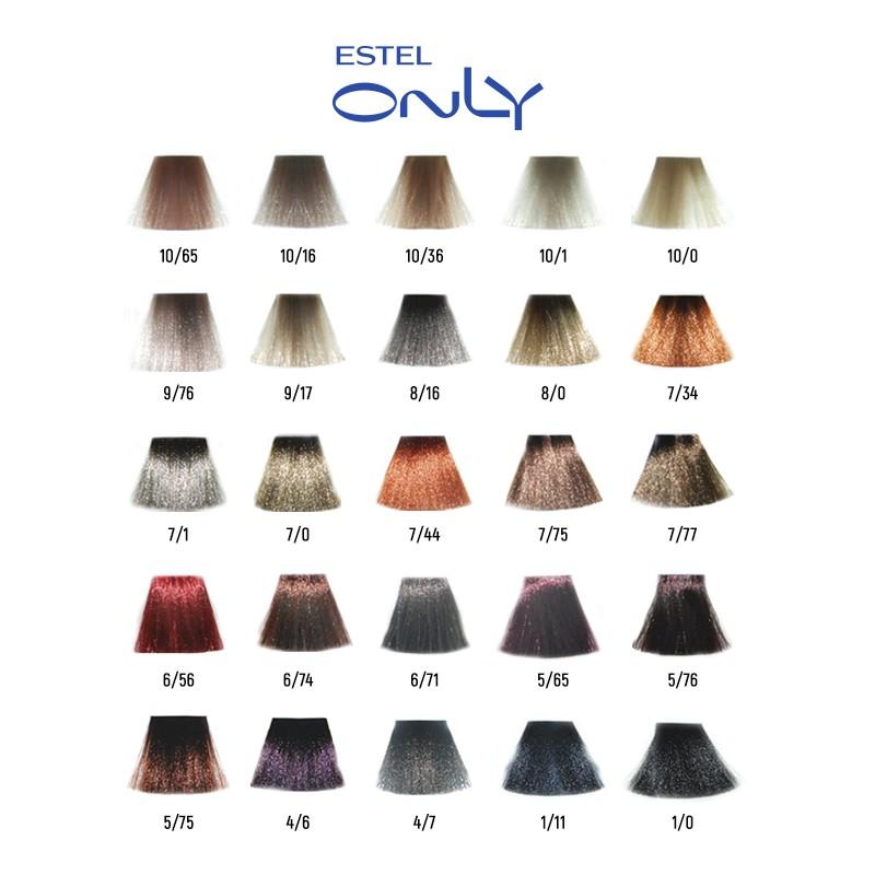 Vopsea-îngrijire pentru păr permanentă Only, 8/16 Blond-închis cenușiu-violet, 100 ml