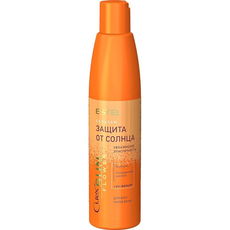 Бальзам-защита от солнца для всех типов волос CUREX SUN FLOWER, 250 мл
