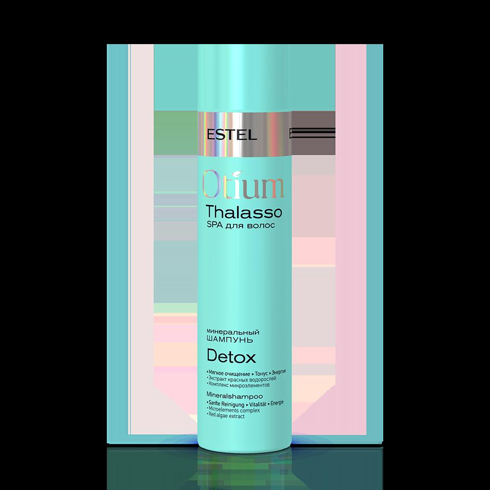Șampon mineral pentru păr ESTEL OTIUM THALASSO THERAPY DETOX, 250 ml - ESTEL Moldova