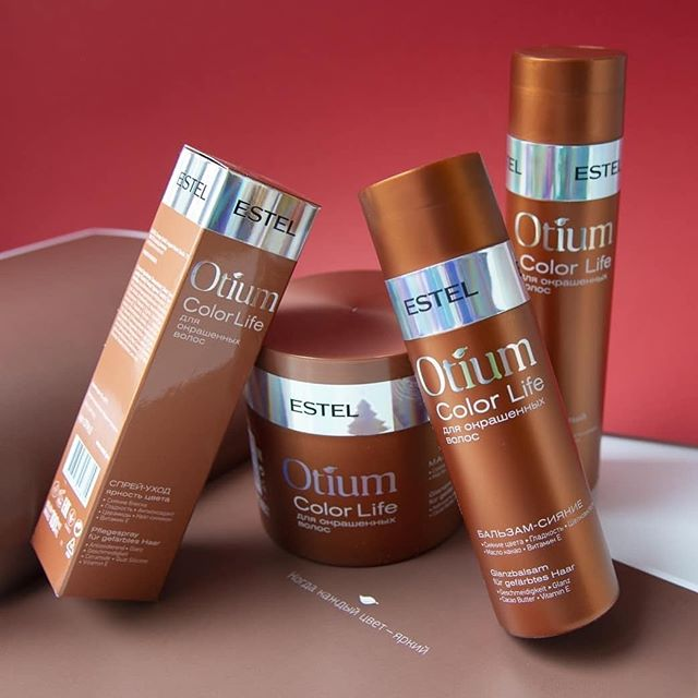 Șampon delicat pentru Păr vopsit ESTEL OTIUM COLOR LIFE, 250 ml - ESTEL Moldova