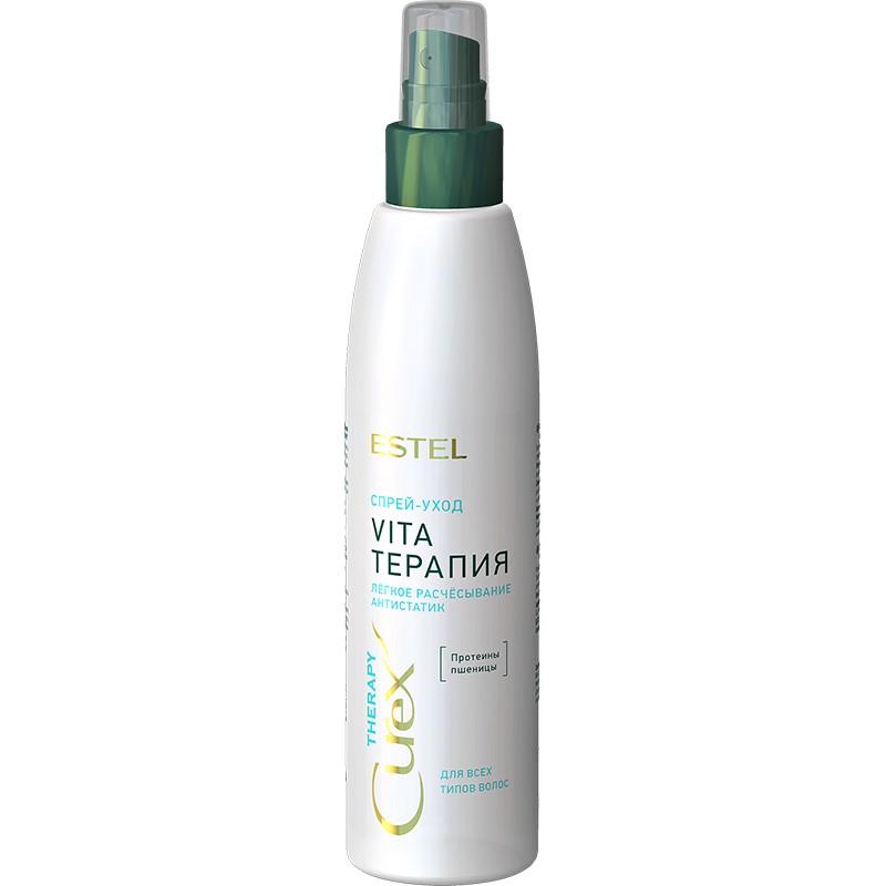 """Spray-îngrijire """"Vita-therapy"""" pentru toate tipurile de păr ESTEL CUREX THERAPY, 200 ml - ESTEL Moldova"""