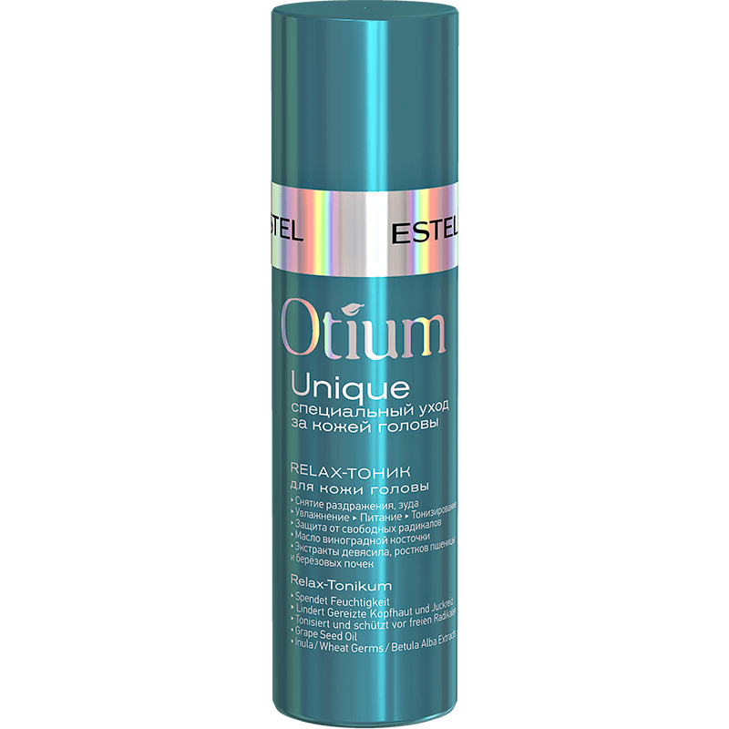 Relax-tonic pentru scalp ESTEL OTIUM UNIQUE, 100 ml - ESTEL Moldova