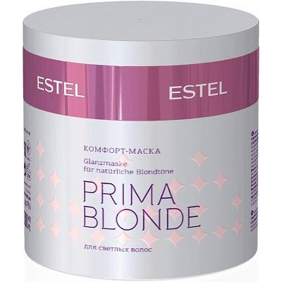 Mască-confort pentru Păr blond ESTEL PRIMA BLONDE, 300 ml - ESTEL Moldova