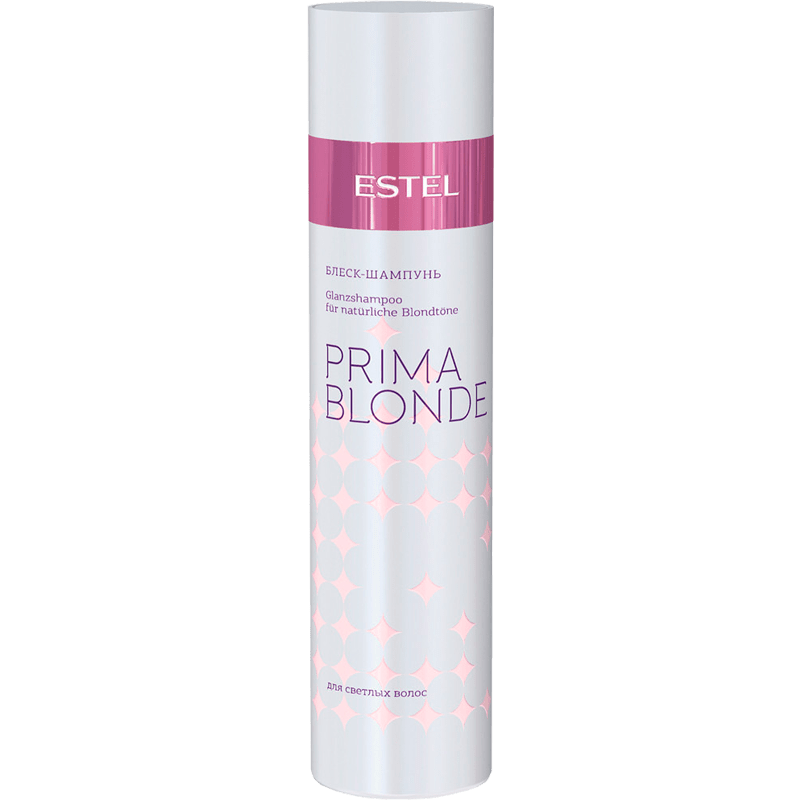 Șampon-luciu pentru păr blond ESTEL PRIMA BLONDE, 250 ml - ESTEL Moldova
