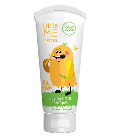 """ESTEL Little Me Gel de duș pentru copii """"Banană"""", 200 ml"""