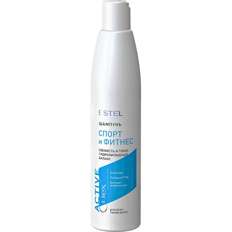 """Șampon """"Sport și Fitness"""" pentru toate tipurile de păr ESTEL CUREX Active, 300 ml - ESTEL Moldova"""