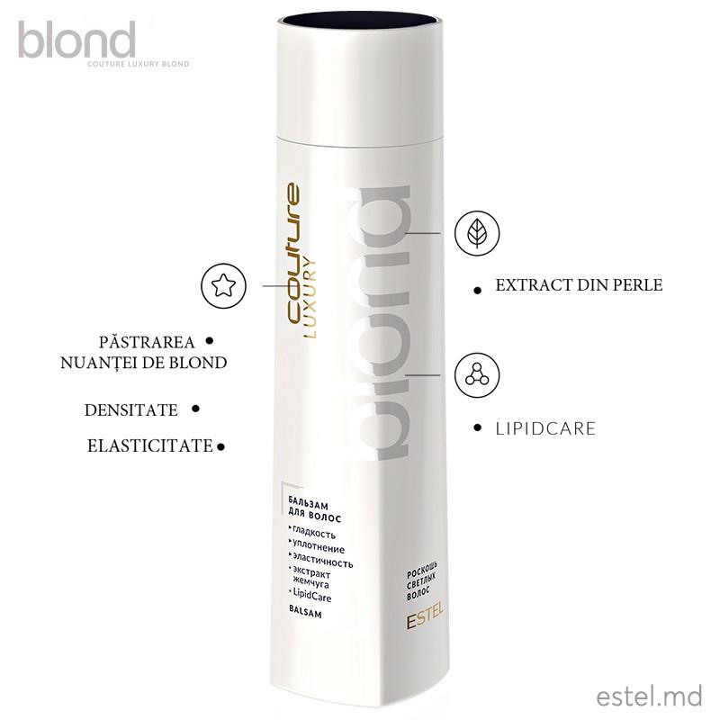 Balsam pentru păr LUXURY BLOND ESTEL HAUTE COUTURE, 250 ml