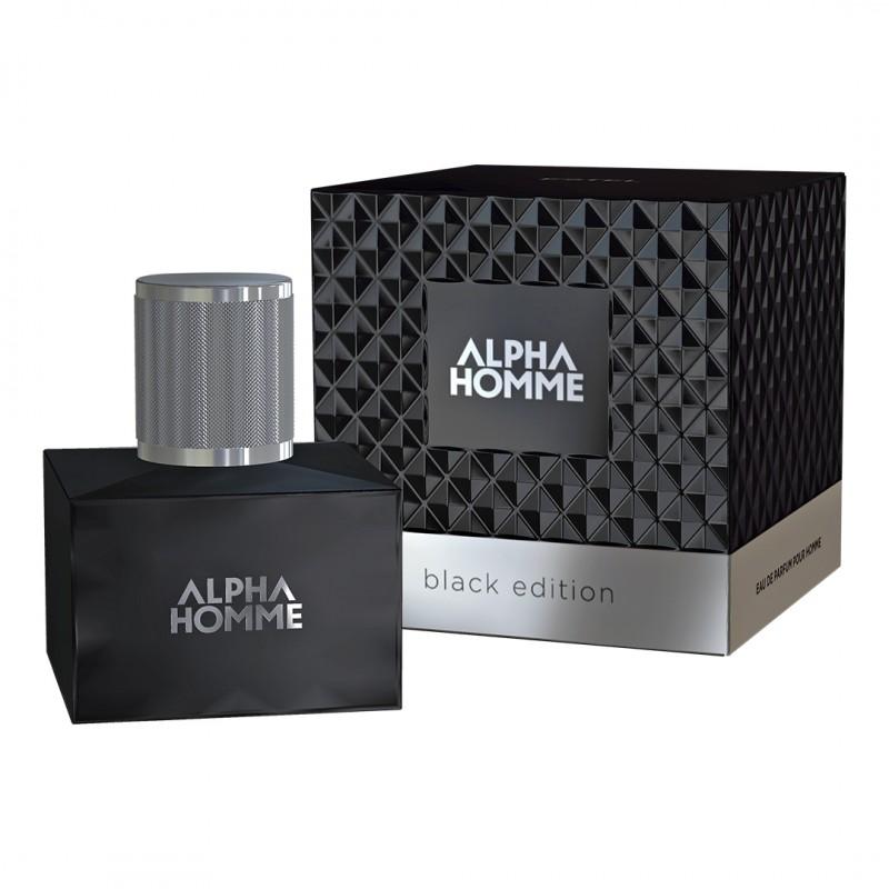 Apă de parfum ESTEL ALPHA HOMME BLACK EDITION pour homme, 50 ml