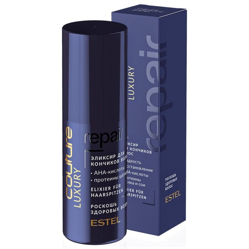 Elexir pentru vârfuri LUXURY REPAIR ESTEL HAUTE COUTURE, 50 ml