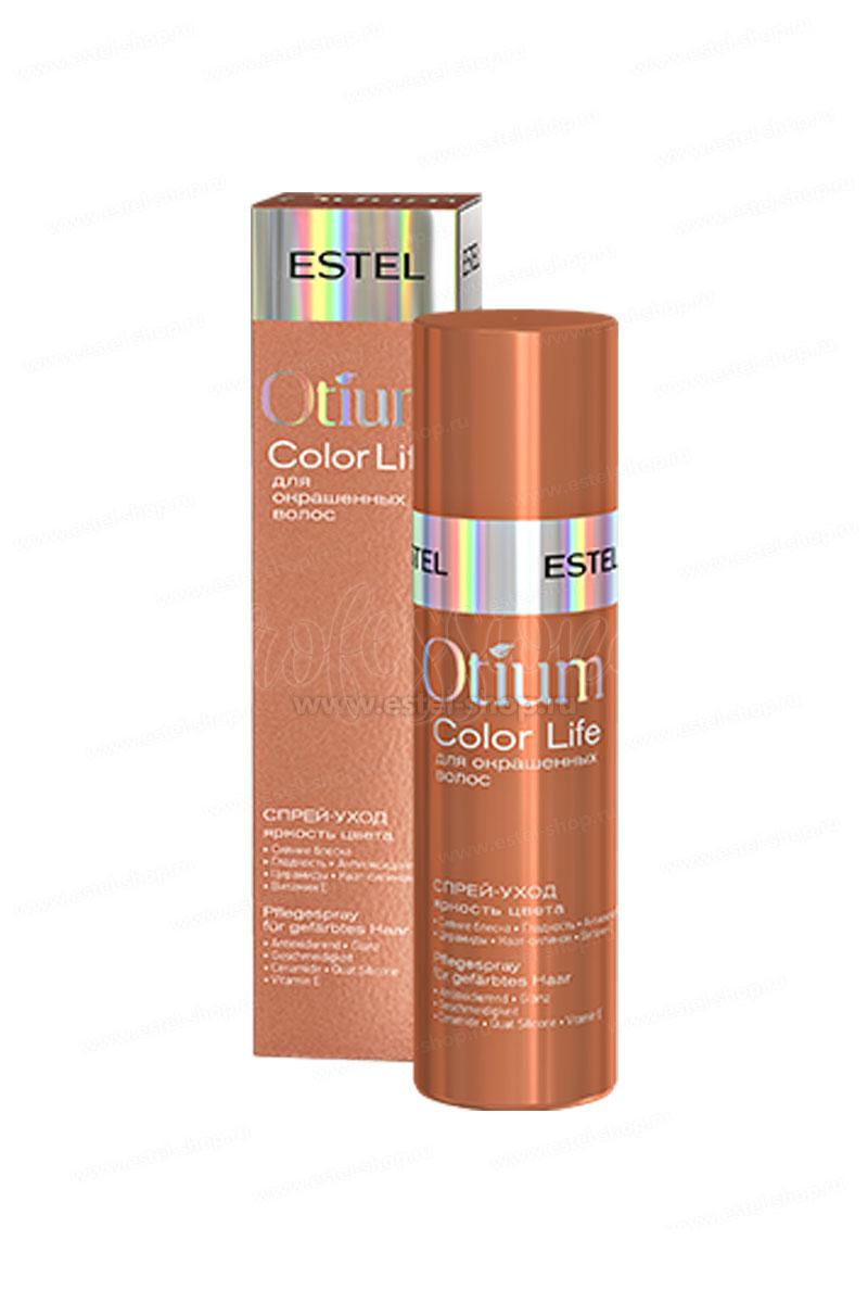 """Спрей-уход для волос """"Яркость цвета"""" ESTEL OTIUM COLOR LIFE, 100 мл"""