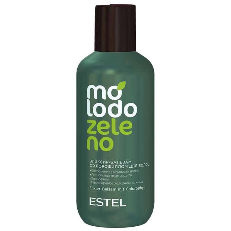 Balsam-elexir cu clorofilă pentru păr ESTEL Molodo Zeleno, 200 ml