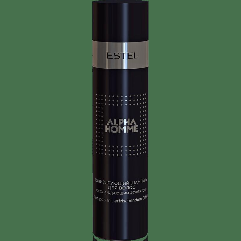 Тонизирующий шампунь для волос с охлаждающим эффектом ESTEL ALPHA HOMME PRO 1000 мл