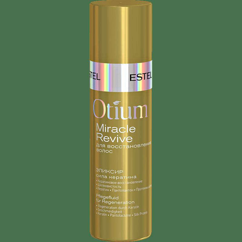 "Elexir pentru păr ""Puterea keratinei"" ESTEL OTIUM MIRACLE REVIVE, 100 ml - ESTEL Moldova"