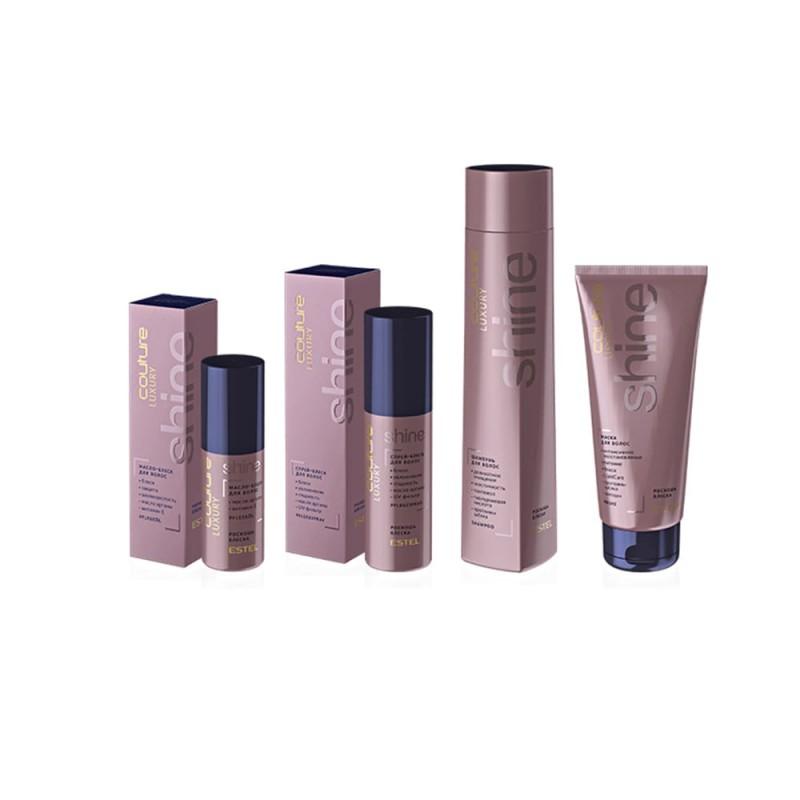 Șampon pentru păr LUXURY SHINE ESTEL HAUTE COUTURE, 300 ml