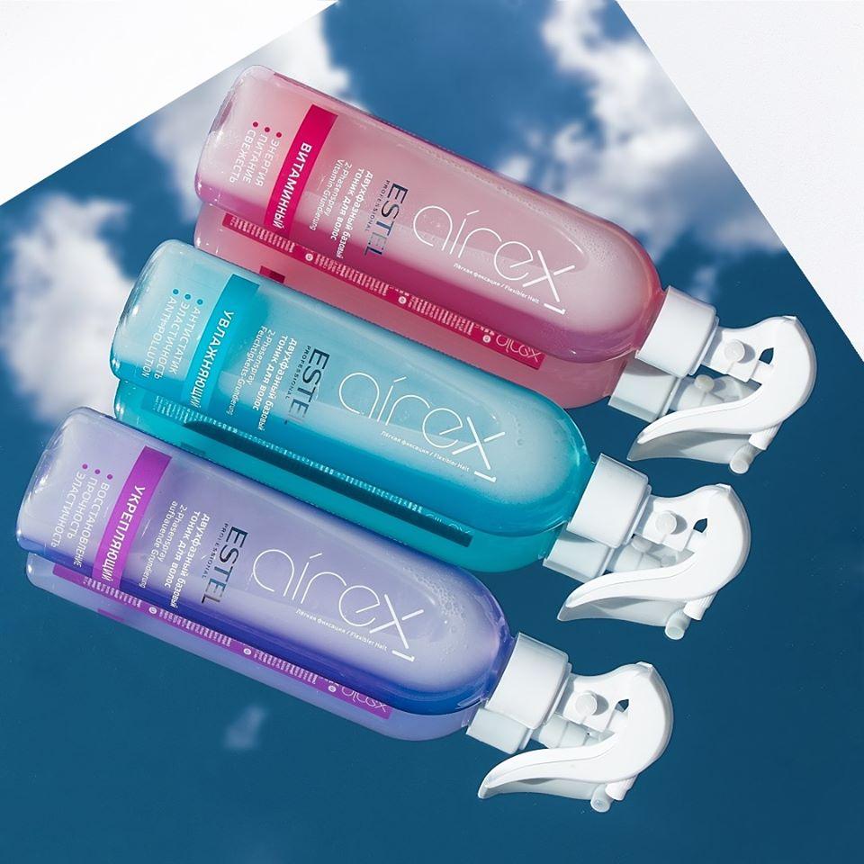 Витаминный двухфазный базовый тоник для волос ESTEL AIREX 400 мл