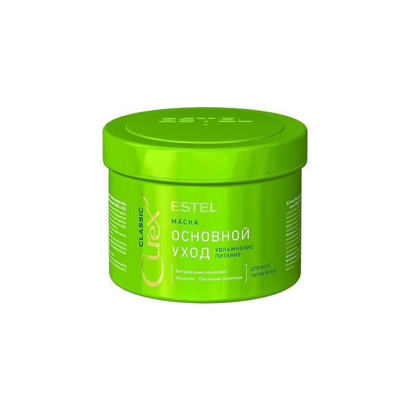 """Mască """"Îngrijire de bază """" pentru toate tipurile de păr ESTEL CUREX CLASSIC, 500 ml - ESTEL Moldova"""