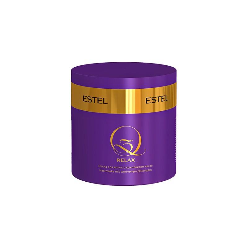 Estel Q3 Masca pentru par cu complex de uleiuri 300 ml