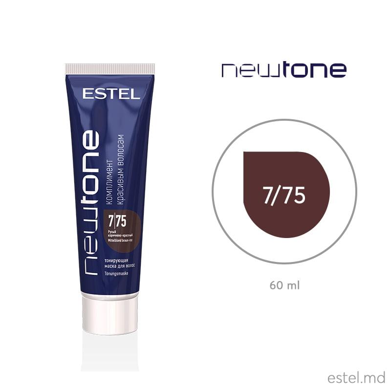 ESTEL HC NewTone 7/75  masca nuantatoare 60 ml pentru par
