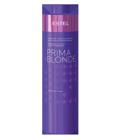 Șampon argintiu pentru nuanțele reci de blond ESTEL PRIMA BLONDE, 1000 ml - ESTEL Moldova