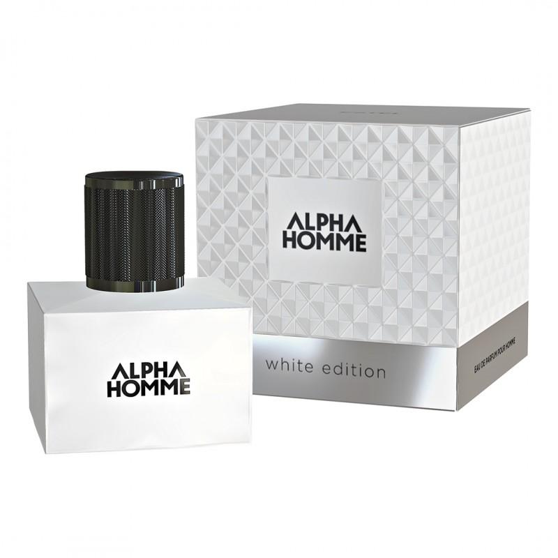 Apă de parfum ESTEL ALPHA HOMME WHITE EDITION pour homme, 50 ml