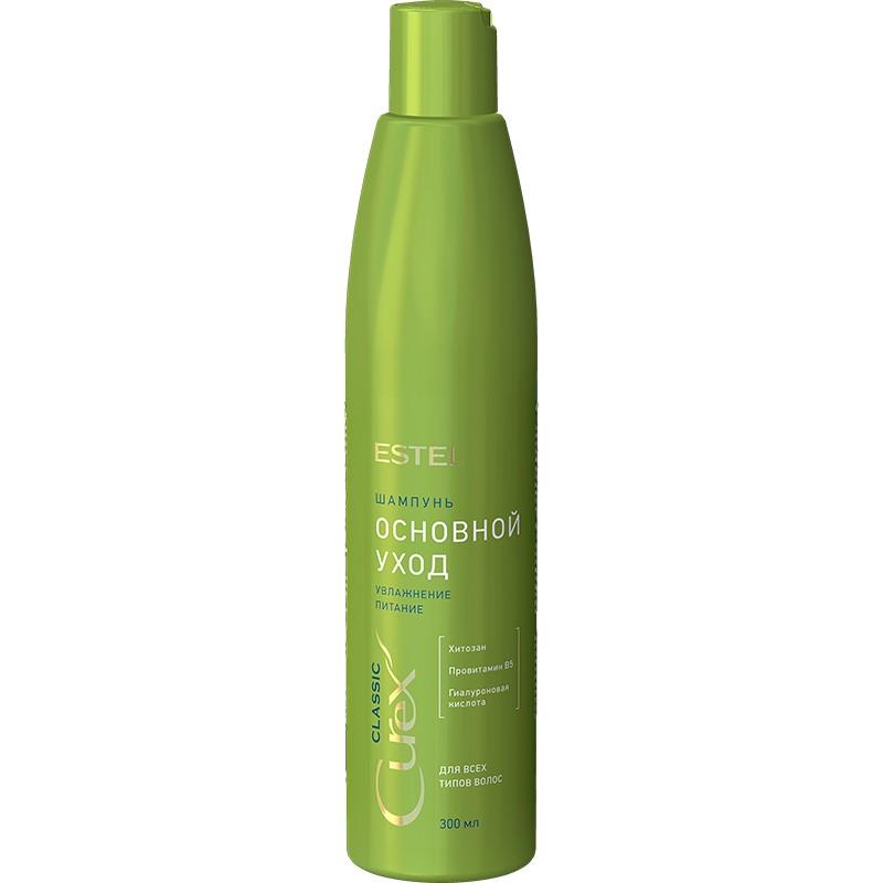 """Шампунь """"Основной уход"""" для всех типов волос ESTEL CUREX CLASSIC, 300 мл"""