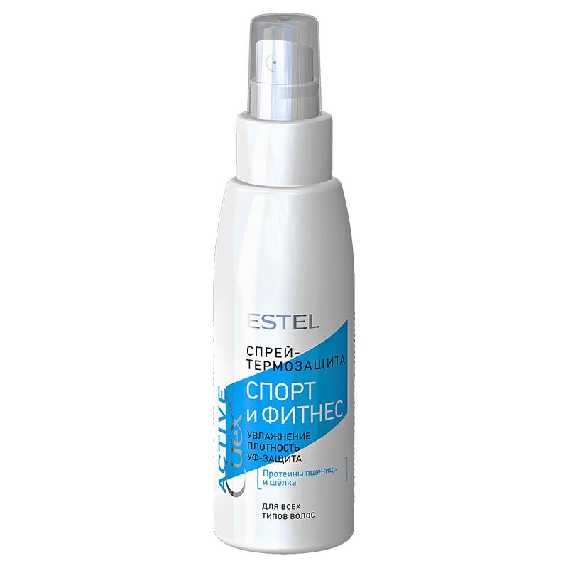 """Spray-termoprotecție pentru păr """"Sport și Fitness"""" ESTEL CUREX Active, 100 ml - ESTEL Moldova"""