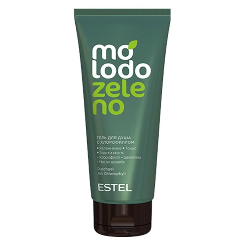 Gel de duș cu clorofilă ESTEL Molodo Zeleno, 200 ml