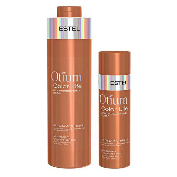 Бальзам-сияние для окрашенных волос ESTEL OTIUM COLOR LIFE, 1000 мл