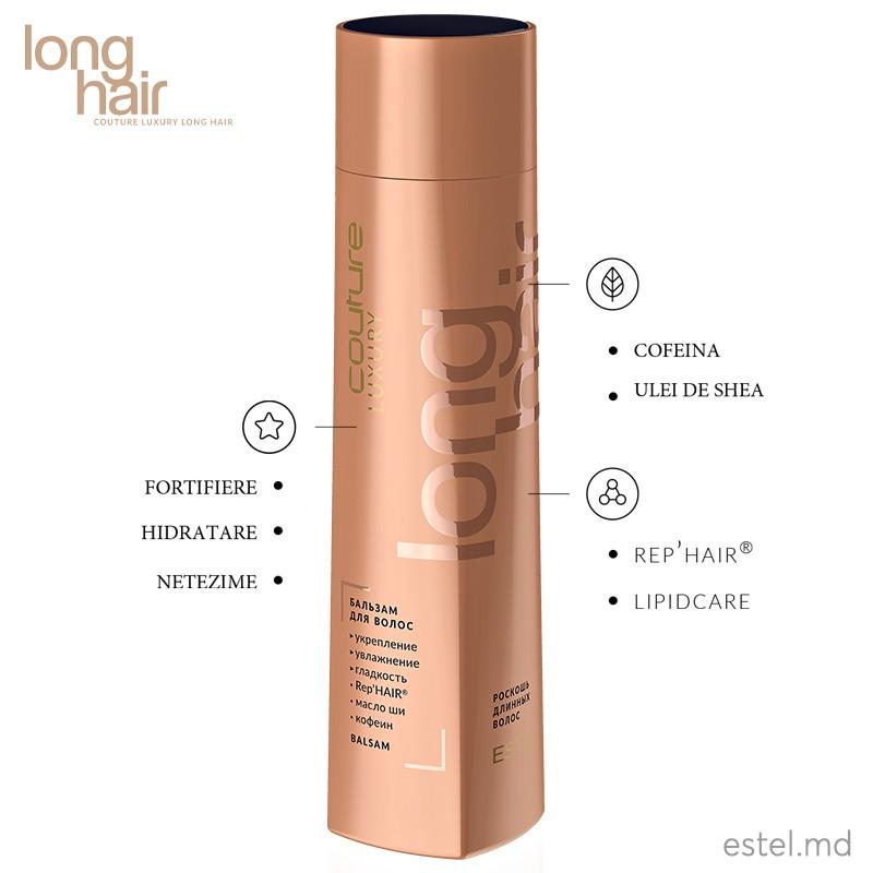 Balsam pentru par LUXURY LONG HAIR ESTEL HAUTE COUTURE, 250 ml