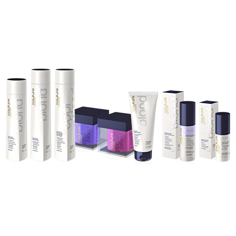 Șampon pentru păr LUXURY BLOND ESTEL HAUTE COUTURE, 300 ml