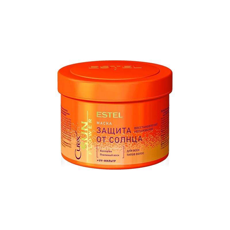Маска-защита от солнца для всех типов волос ESTEL CUREX SUN FLOWER, 500 мл