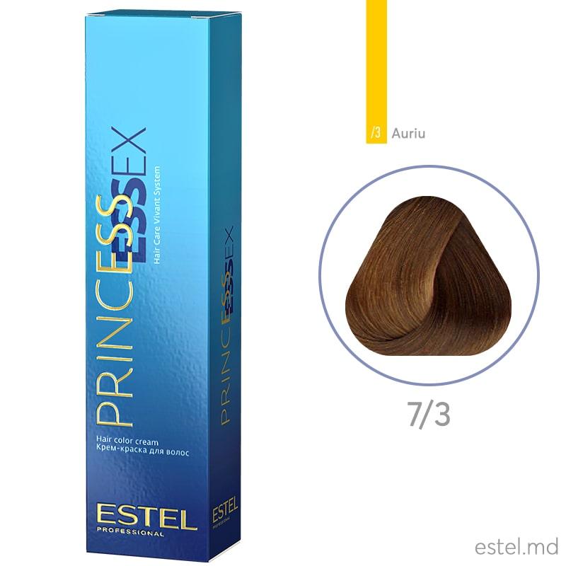 Крем-краска для волос PRINCESS ESSEX, 7/3 Русый золотистый, 60 мл