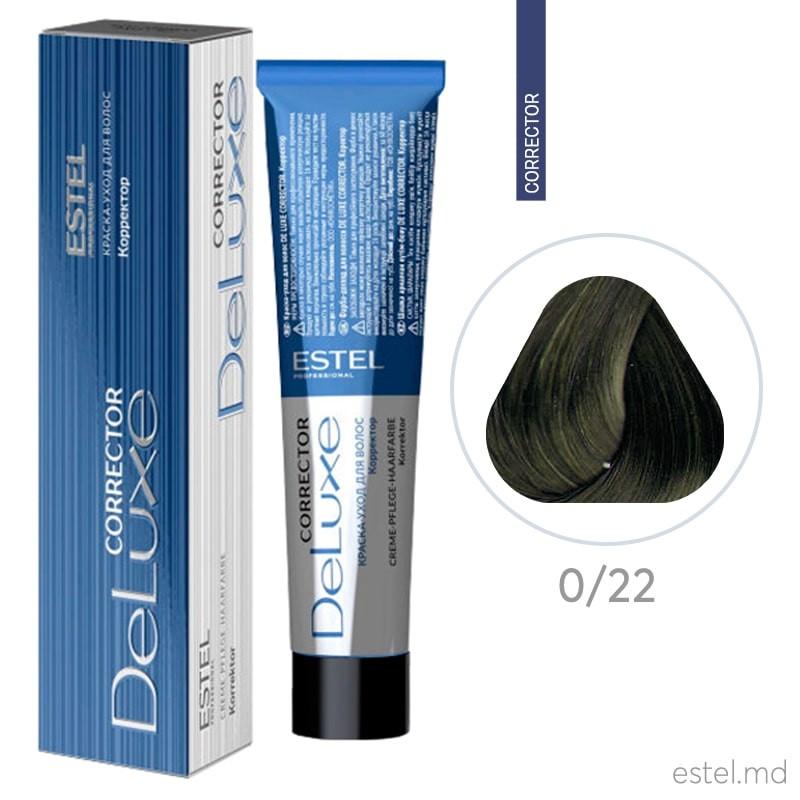 Corector De Luxe 0/22 verde 60 ml