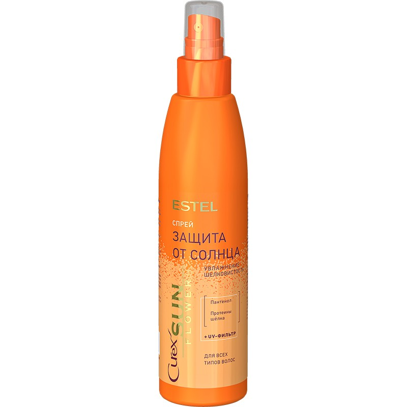 Спрей-защита от солнца для всех типов волос ESTEL CUREX SUNFLOWER, 200 мл