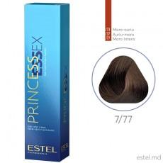 Крем-краска для волос PRINCESS ESSEX, 7/77 Русый коричневый интенсивный, 60 мл