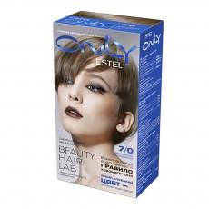 Vopsea-îngrijire pentru păr permanentă Only, 7/0 Blond, 100 ml