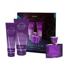 Kit de parfumuri ESTEL MYSTERIA, (Apă de parfum, gel-spumă pentru duș și baie, lăptișor pentru corp)