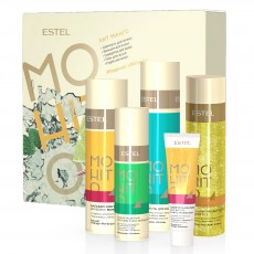 Set HIT #5 Mango ESTEL MOHITO (Sampon 250 ml, balsam 200 ml, ser 60 ml, spray 100 ml, gel de dus 200 ml)