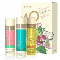 Set HIT #3 Lici-Feijoa ESTEL MOHITO (Sampon 250 ml, balsam 200 ml, gel de dus 200 ml)