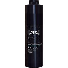 Șampon tonifiant cu efect răcoritor ESTEL ALPHA HOMME PRO 1000 ml Estel Moldova