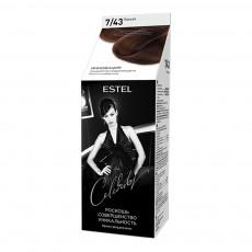 Vopsea-îngrijire pentru păr semipermanentă Celebrity, 7/43 Coniac, 125 ml