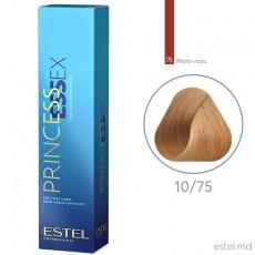 Крем-краска для волос PRINCESS ESSEX, 10/75 Светлый блондин коричнево-красный, 60 мл