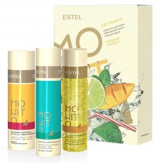 Set HIT #3 Mango  ESTEL MOHITO (Sampon 250 ml, balsam 200 ml, gel de dus 200 ml)